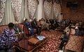 Arrivée des membres du Conseil de sécurité au Mali - Déclarations à la presse