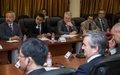 Mot du Président du Conseil de sécurité lors de la rencontre avec le Premier Ministre