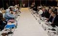 Les rencontres et consultations du Conseil de sécurité se poursuivent avec les représentants de la Plateforme et de la CMA