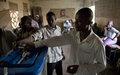 La MINUSMA construit des entrepôts pour la sécurité du matériel électoral