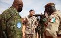 Attaque contre les Casques bleus à Tombouctou : Le Commandant de la Force aux côtés des soldats
