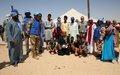 A Taoudéni, la MINUSMA aux côtés des jeunes leaders communautaires