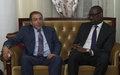 Arrivée au Mali du Représentant Spécial du Secrétaire général des Nations Unies et Chef de la MINUSMA, M. Mongi Hamdi