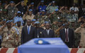 La MINUSMA rend hommage au sous-lieutenant Ahmat Adam Adoum tué le 17 janvier à Kidal