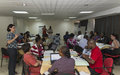 Violences sexuelles liées aux conflits : la MINUSMA forme ses officiers des Droits de l'Homme