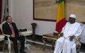 Le Chef de la MINUSMA et une délégation de la Médiation internationale et partenaires  rencontrent le Président Ibrahim Boubacar Keïta