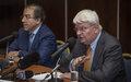 Transcript Conférence de Presse USG Hervé Ladsous et RSSG Mongi Hamdi