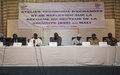 Réforme du secteur de la sécurité au Mali: la MINUSMA continue d'outiller la société civile afin qu'elle s'approprie le processus