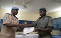 L'EUCAP Sahel et la Police de la MINUSMA forment la gendarmerie nationale à l'accueil des victimes...