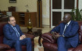 The SRSG Meets Mr. Modibo Keïta, Prime Minister of Mali