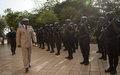Cérémonie d'au revoir au Chef de la Composante Police de la MINUSMA