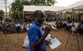 Débats Citoyens : Valoriser le rôle de la jeunesse dans le processus de paix