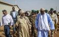 Gao - Rencontre du Chef de la MINUSMA avec le Ministre malien de la Défense et des Anciens Combattants