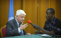 Interview exclusive de l'SGA Hervé Ladsous sur MIKADO FM