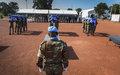 Mali : Ultime hommage à trois Casques bleus du Tchad et du Burkina Faso