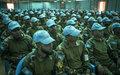 Le Chef de la MINUSMA se rend à Gao auprès des Casques bleus du contingent bangladais