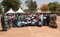 La MINUSMA et le Service Social des Armées soutiennent la réinsertion économique de 100 veuves et orphelins de guerre