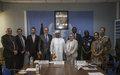 COMMUNIQUE DE PRESSE CONJOINT - Cérémonie de signature officielle d'un accord de financement de la Belgique au profit de la sécurité et du développement au Mali via la MINUSMA