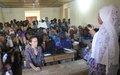 Tombouctou : Une équipe de la MINUSMA échange avec des jeunes filles