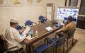 Réunion SRSG avec les membres du Conseil de sécurité de l'ONU