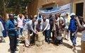 Réhabilitation de la maison des jeunes de Gao : le Programme des VNU pose la première pierre du chantier