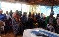 Au nord comme au sud du Mali, la MINUSMA continue à expliquer son mandat aux maliens