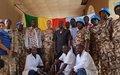 Tombouctou : le Commandant du Secteur Ouest remet un important lot de matériels médicaux à l'hôpital régional