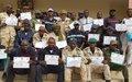 Tombouctou : militaires et civils formés sur la gestion des crises et catastrophes naturelles