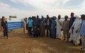 Inauguration du premier bassin de décantation des eaux usées de Gao