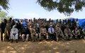 Protection des civils: une délégation rend visite aux communautés de la zone dite des trois frontières