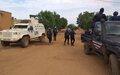Protection des civils dans la ville de Gao: lapolice malienne et la MINUSMA patrouillent ensemble