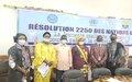Résolution 2250 (2015) sur jeunesse, paix et sécurité: les jeunes Maliens se regroupent pour un atelier de capitalisation