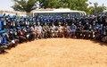 Goundam/Tombouctou: la médaille d'honneur des Nations Unies décernée aux policiers de l'ONU déployés à Tombouctou