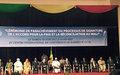 Le RSSG salue la signature de l'Accord de paix