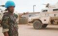 Sécurisation et protection des populations : la contribution des Casques bleus dans la région de Kidal
