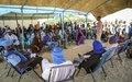 À Tombouctou, la MINUSMA informe les communautés sur son Mandat et facilite le dialogue entre elles
