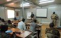 Les armements et l'instruction sur le tir au cœur d'un atelier au profit des forces de défense et de sécurité maliennes à Gao