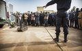 Les Nations Unies appuient la création d'une première unité malienne d'intervention sur Engins Explosifs Improvisés