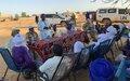 À GAO, la MINUSMA poursuit ses échanges avec les habitants pour mieux faire comprendre son mandat