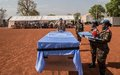 MINUSMA pays tribute to an Egyptian peacekeeper killed in Mali