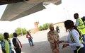 La MINUSMA poursuit le transport des ex-combattants du Mécanisme Opérationnel de Coordination vers Bamako pour les centres de formation