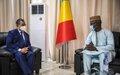 Rencontre Chef de la MINUSMA et Président du Conseil National de Transition