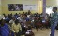 Médias et élections : 50 journalistes et animateurs sensibilisés sur le rôle des médias dans les élections