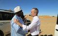 Kidal: Visite du Ministre de l'énergie et de l'eau et du Gouverneur de la région
