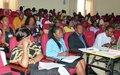 La Division des Affaires Electorales de la MINUSMA forme 78 Agents d'Appui au Processus Electoral au Mali