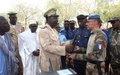 MINUSMA réhabilite et équipe le commissariat de police de Bandiagara
