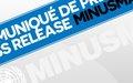 Communiqué de presse: Renforcement des patrouilles de la MINUSMA dans la région de Kidal