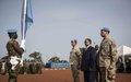 Commandement de la Force de la MINUSMA : le général de corps d'armée Dennis Gyllensporre entre en fonction