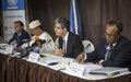 Transcription de la Conférence de Presse de la Mission du Conseil de Sécurité des Nations Unies au Sahel.