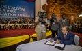 La MINUSMA se félicite de la signature de l'Accord de paix et réaffirme son impartialité